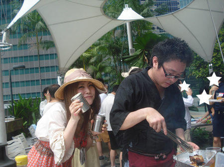 Meet Japanese Women - BBQ Party in Singapore
