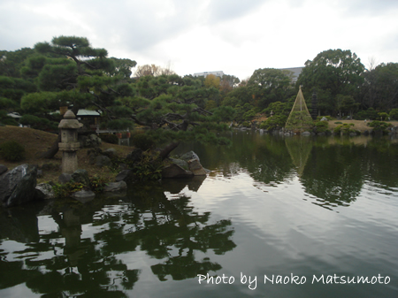 Meet Japanese Women in a beautiful Japanese Garden in TOKYO