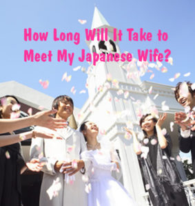 Marry a Japanese women