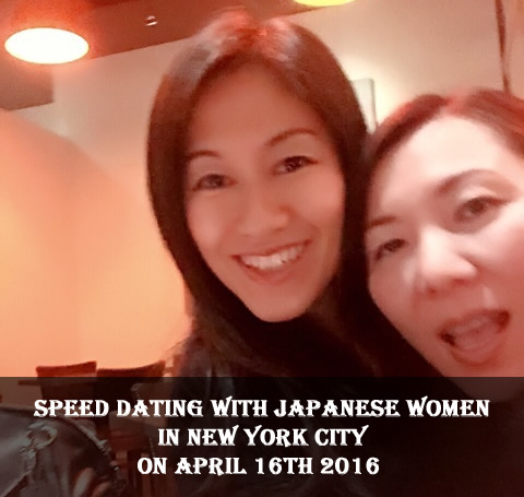 Speed Dating with Japanese Women in New York City