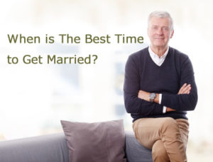 When is The Best Time to Get Married?