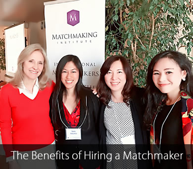 The Benefits of Hiring a Matchmaker