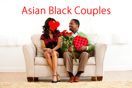 Asian Black Couples