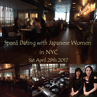 Speed Dating Even in NYC on April 29th was a Success.