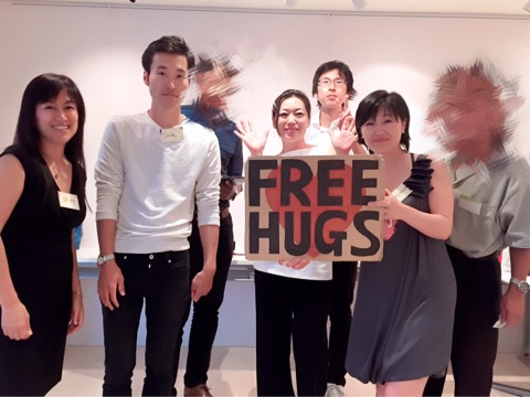Daichi Free Hug with Traditional Japanese Matchmakers