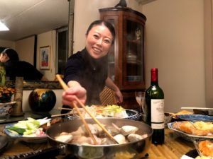 Japanese women Thanksgiving