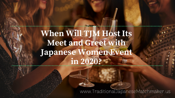 meet & greet japanese women event in 2020